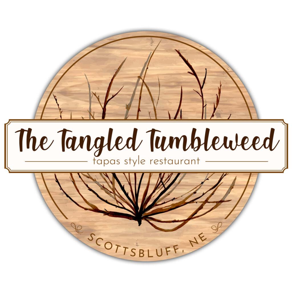 The Tangled Tumbleweed Logo