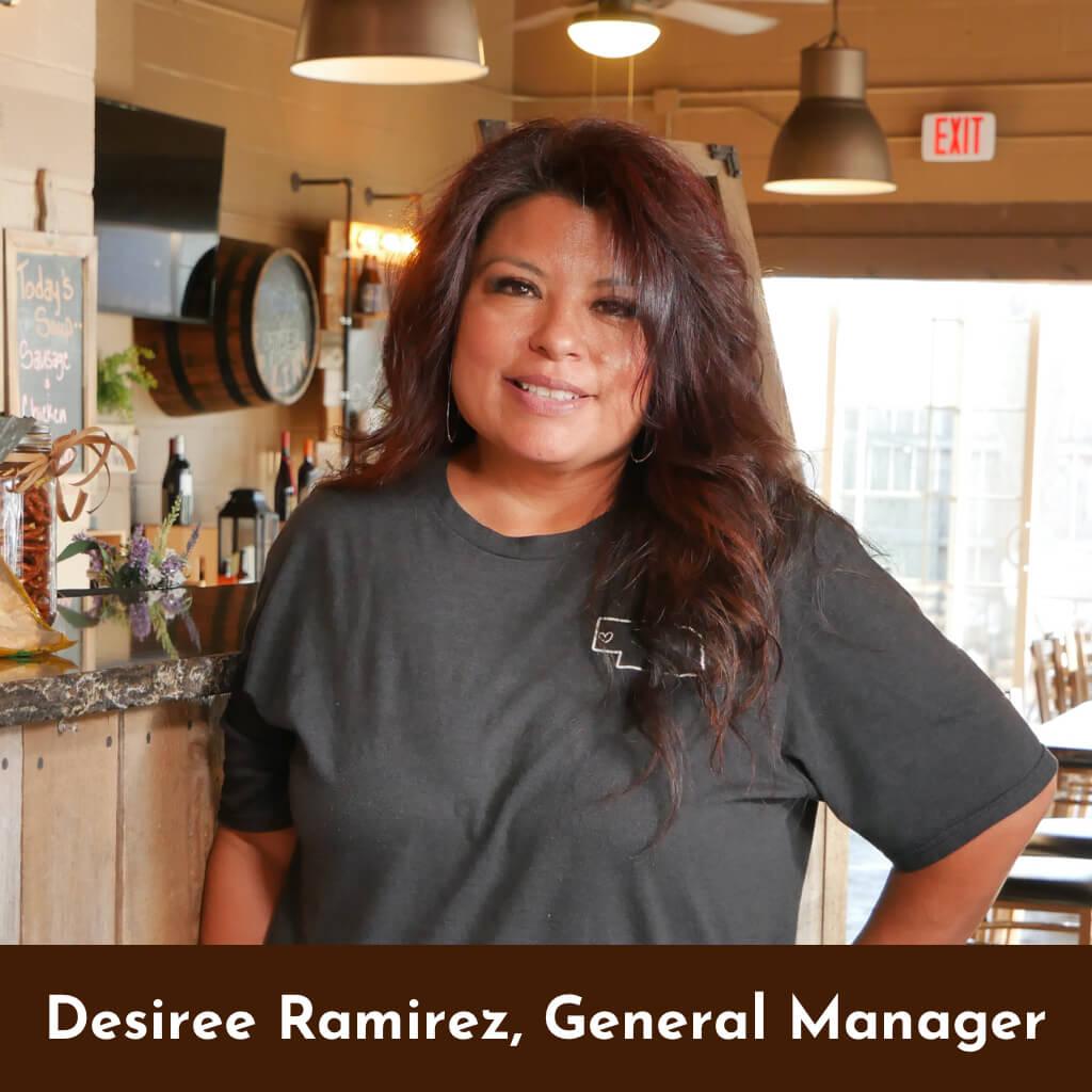 Desiree Ramirez-- General Manager The Tangled Tumbleweed